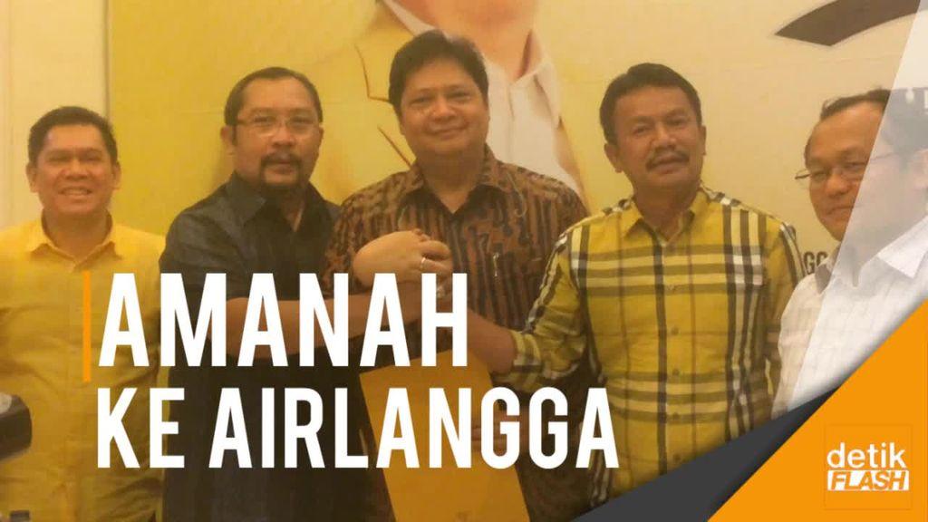 38 DPD Jawa Timur Dukung Airlangga Jadi Ketum Golkar