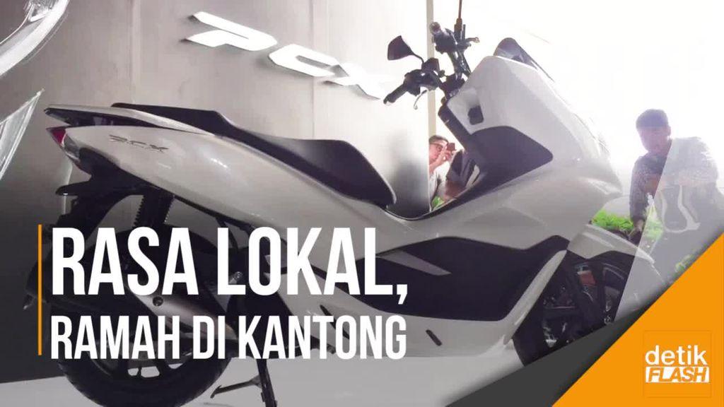 Perkenalkan Skutik Bongsor Baru dari Honda, All New PCX