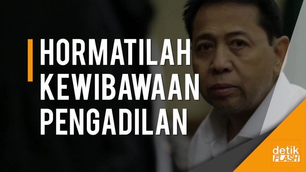 KPK Sebut Sikap Novanto di Persidangan Bisa Beratkan Tuntutan