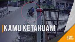Pencuri Terekam CCTV, Kondisi Ramai Gasak Uang Kades Rp 290 Juta