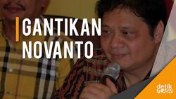 Airlangga Hartarto Gantikan Novanto Sebagai Ketua Umum Golkar