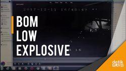 CCTV Saat Paket Bom Meledak