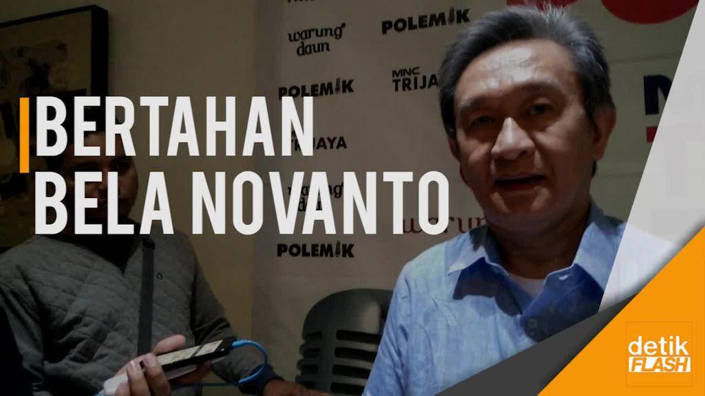 Bela Novanto, Maqdir: Saya Yakin Ada Kebenaran yang Dimilikinya