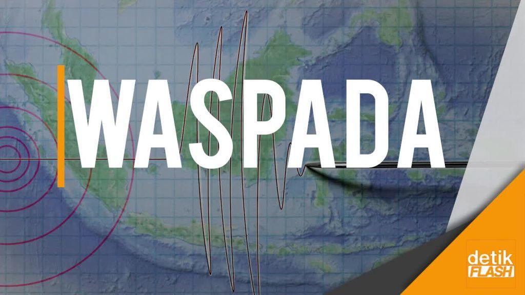 Gempa 7,3 SR Ancam Tsunami di Jabar, Jateng, dan DIY