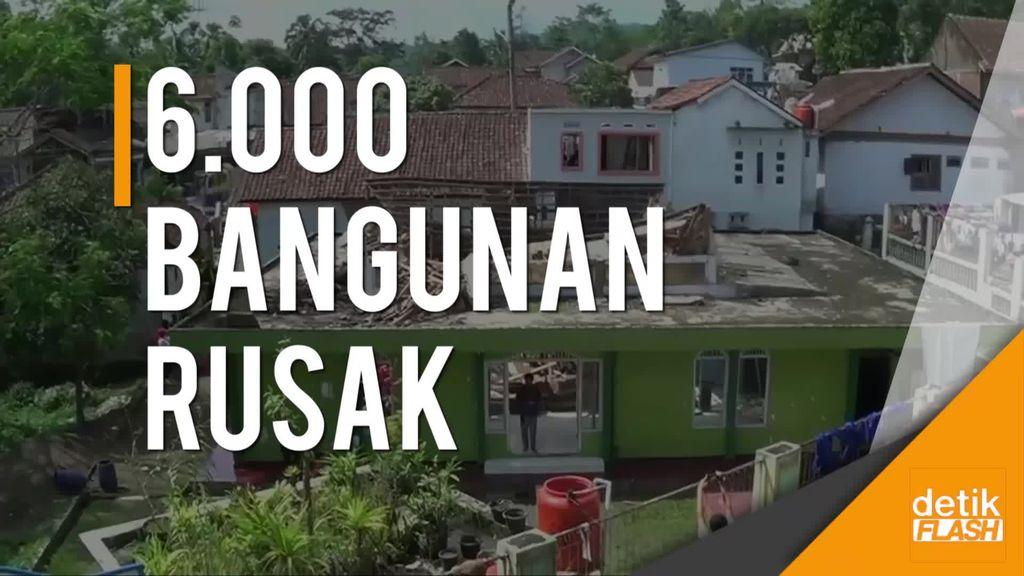 BPBD Tasikmalaya Terima Laporan 6 Ribu Bangunan Rusak Akibat Gempa