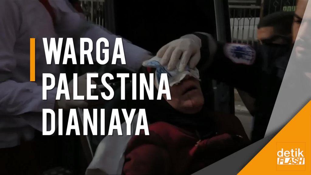 Miris! Lihatlah Cara Pasukan Israel Perlakukan Warga Palestina Ini