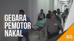 Polisi Tewas Tertabrak KA Bangunkarta
