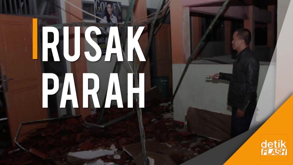 SMKN 3 Tasikmalaya, Saksi Bisu Keganasan Gempa 6,9 SR Semalam