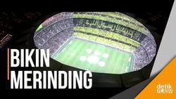 Sekilas Mirip Dortmund, Suporter Klub Ini Lantunkan Salawat di Stadion
