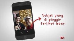 Cekidot Trik Selfie Anti Muka Bulat