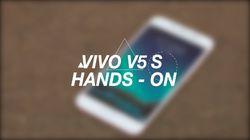 Geekster: Vivo V5 S Hands-On