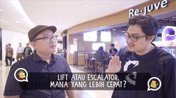 Mana yang Lebih Cepat, Naik Escalator Apa Naik Lift?