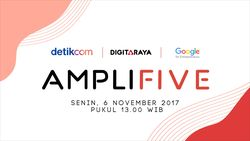 Saksikan Live Streaming Amplifive, Ajang Pencarian Startup Potensial Indonesia
