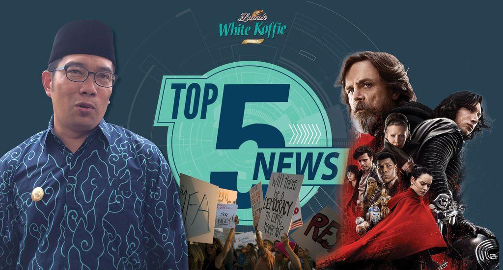 Golkar Campakkan RK, Star Wars: The Last Jedi Puncaki Box Office