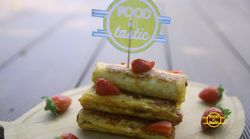 Resep: Strawberry Nutella French Toast
