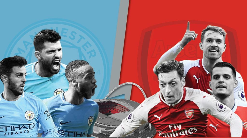 Kata Gibol Soal Final Piala Liga Arsenal Vs City