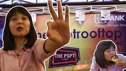Menjajal Jajanan Kekinian di PSPT Rooftop Pasar Tebet