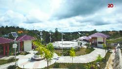 Taman Sabang Merah, Tempat Jogging Favorit Warga Sanggau