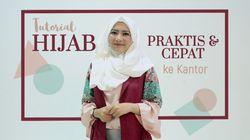 Tutorial Hijab Praktis & Cepat untuk ke Kantor