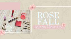 Cantiknya Rose Fall Korean Make up Look