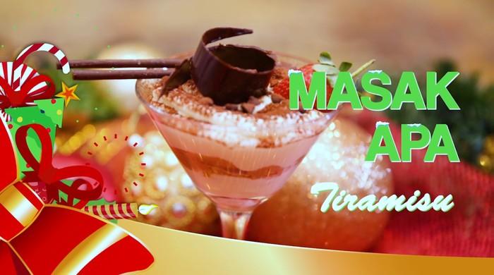 Tiramisu, Dessert Spesial untuk Natal