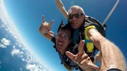 Diary detikTravel: Pengalaman Sky Diving