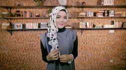 Tutorial: Kreasi Layer Samping Jilbab Segi Empat