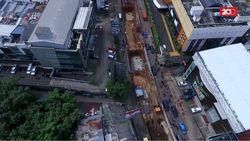 Melihat dari Udara, ini Jalan Fatmawati yang Bakal Dibuka-Tutup