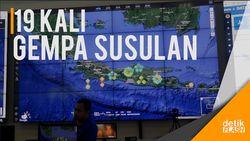 BNPB: Gempa 6,9 SR Tadi Malam Diikuti 19 Kali Gempa Susulan