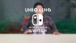 Geekster: Unboxing Nintendo Switch