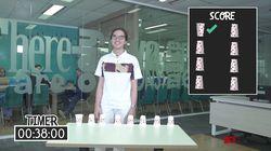 Flip Cup Challenge Bersama Dul Jaelani