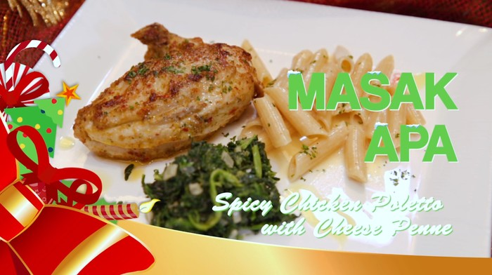 Lezatnya Spicy Chicken Poletto with Cheese Penne