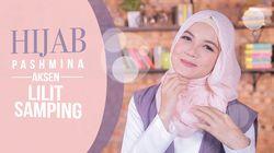 Tutorial: Hijab Pashmina Aksen Lilit Samping