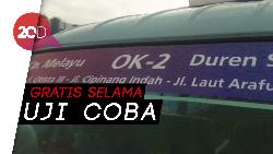 15 Angkot Siap Uji Coba OK Otrip Kampung Melayu-Duren Sawit