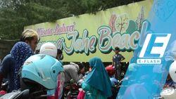 Ramai-ramai Liburan Tahun Baru di KJB Rembang