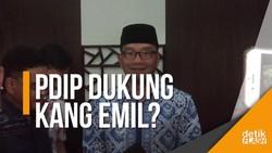 PDIP Bakal Godok Nama Ridwan Kamil di Rapat Pleno
