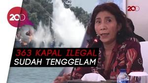 Silang Pendapat Penenggelaman Kapal, Susi: Tak Perlu Dibahas Lagi