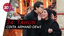 11 Januari, Happy Anniversary Armand Maulana dan Dewi Gita!