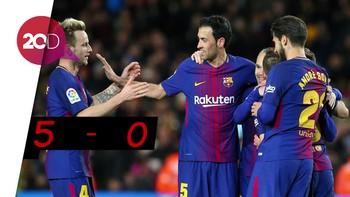 Barcelona Panen Gol di Kandang