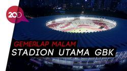 Gemerlap Malam Stadion Utama GBK