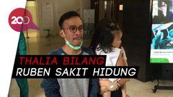 Gimana Respons Thalia Lihat Ruben Onsu dan Sarwendah Sakit?