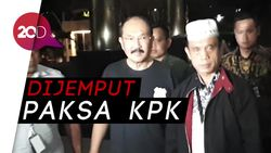 Dijemput Paksa, Fredrich Yunadi Digiring ke KPK!
