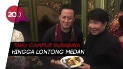 Sajian Makanan Khas Indonesia di Ultah Guruh Soekarno Putra
