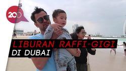 Guling-guling Mesra Raffi dan Nagita Saat Berlibur di Dubai