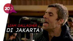 Tiba di Jakarta, Liam Gallagher Gegerkan Medsos