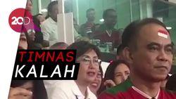 Ekspresi dan Teriakan Jokowi Saksikan Laga Timnas Vs Islandia