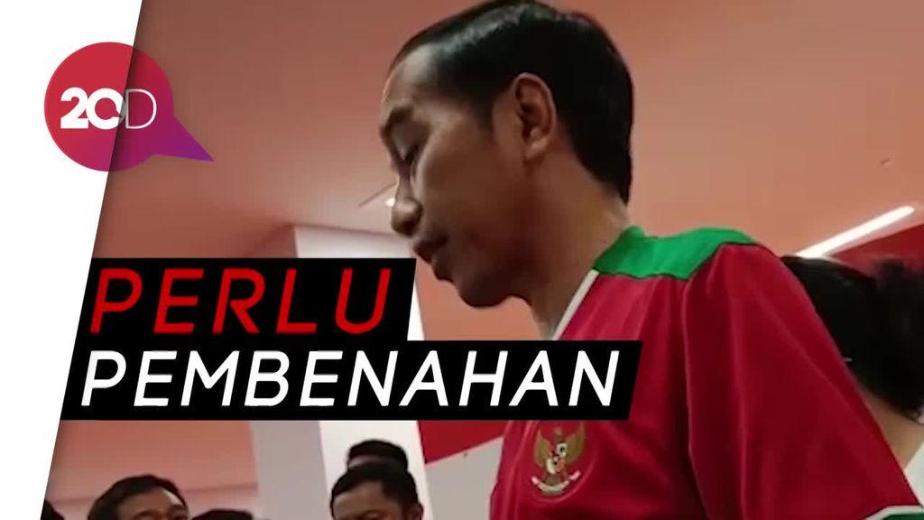 Komentar Jokowi soal Kekalahan Timnas 1-4 dari Islandia