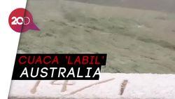 Langka! Salju Turun di Tengah Musim Panas Australia