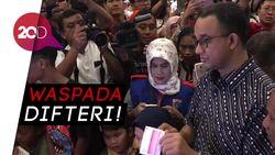 Anies: Difteri di Jakarta Meningkat Pesat Sejak 2016