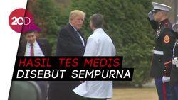 Kesehatan Trump Diragukan, Gedung Putih: Hasil Tes Medisnya Sempurna